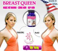 BREAST QUEEN hỗ trợ làm tăng vòng 1 cho nữ