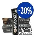 Khuyến mãi 20% khi mua 2 gel titan Maxman
