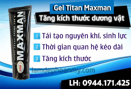 titan gel có tác dụng phụ không