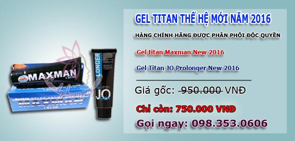 gel titan có tốt không mua ở đâu giá bao nhiêu