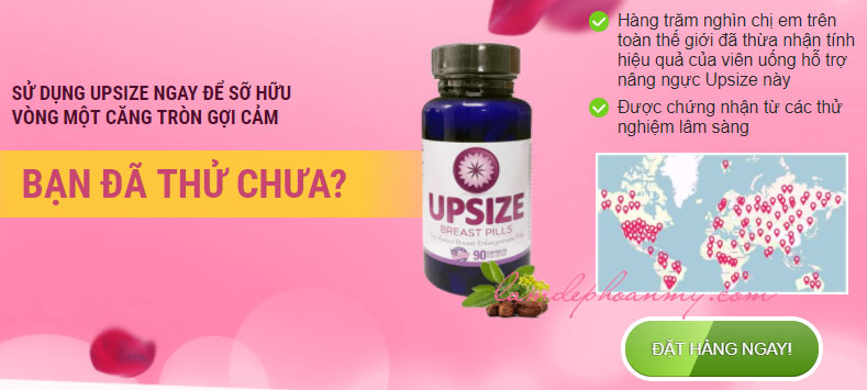 Nút mua Upsize Breast Pills