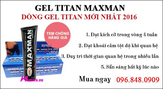 gel titan bao nhiêu tuổi sử dụng được đem kết quả tốt